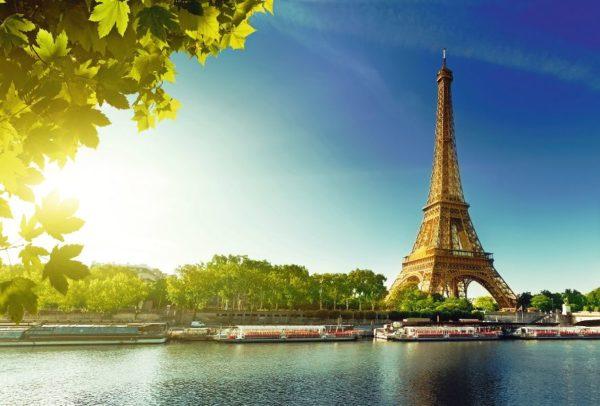 Busreise durch Frankreich