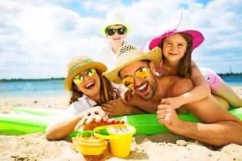 urlaub am strand mit kindern