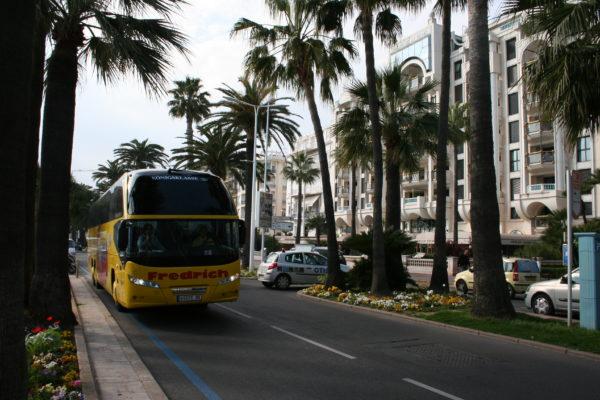 Busreise durch Ligurien
