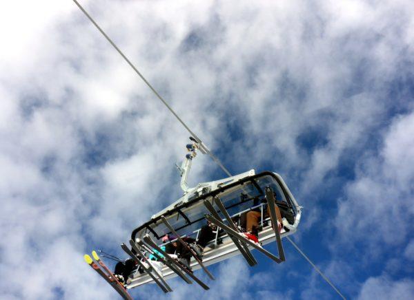 Rodeln Skifahren