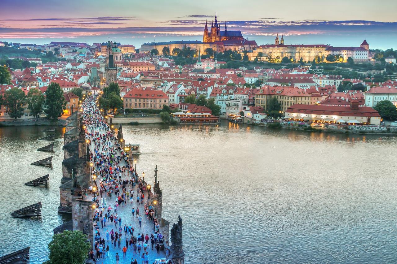 Busreise Prag