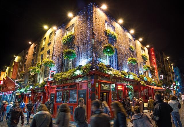 Busreise nach Irland